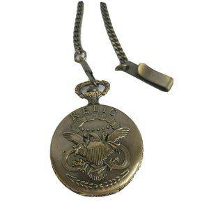 Relic Eagle Pocket Watch Clip